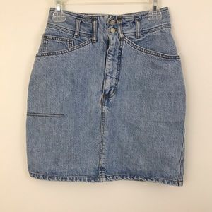 Vintage Guess Denim Skirt Georges Marciano sz 29